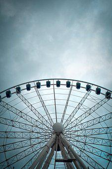 Sky, Wheel, Entertainment, Ferris Wheel, Ride