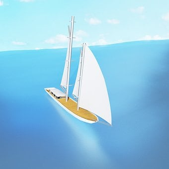 Ship, Sea, Sky, Boat, Travel, Ocean, Sail, Waters