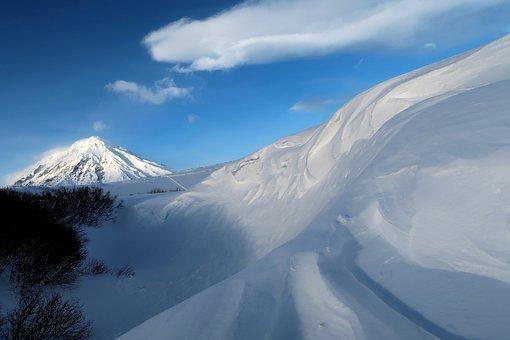 Snow, Winter, Snow Cornice, Snow Wall, Wave, Mountain
