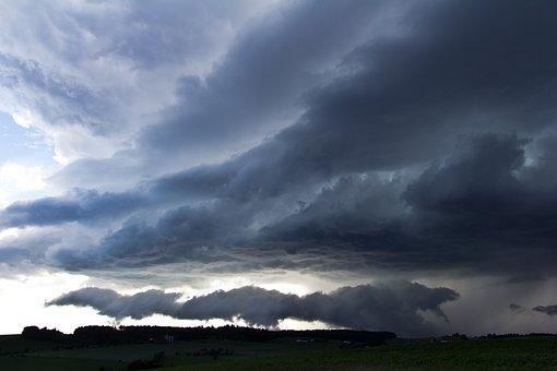 Thunderstorm, Storm, Nature, Sky, Forward, Landscape