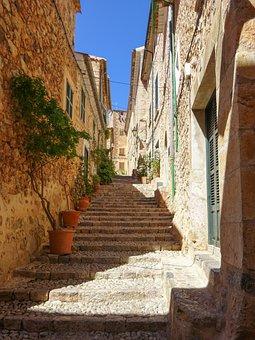 Mallorca, Fornalutx, Architecture, Gradually, Travel