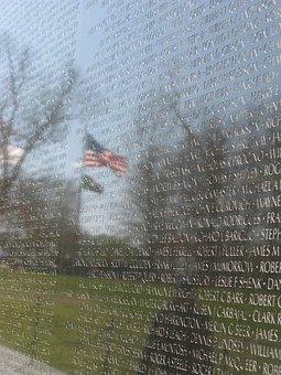 Vietnam Memorial, Washington, Memorial, Vietnam, Dc