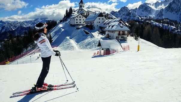 Snow, Winter, Sport, Skier, Mountain, Resort, Tarviso