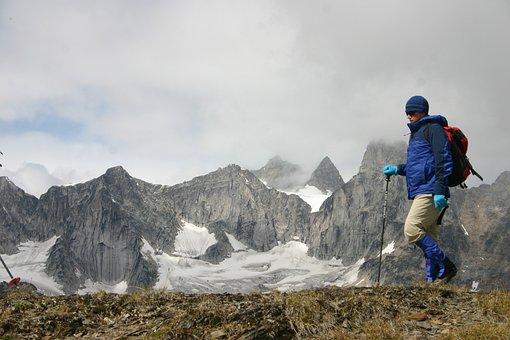 Hike, Mountain, Adventure, Climb, Outdoors, Range