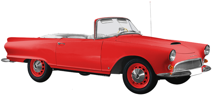 Auto Union, Dkw, 1000 Sp, Roadster, Isolated