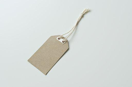 Label, Kraft, Blank, Design, Paper, Tag, Brown