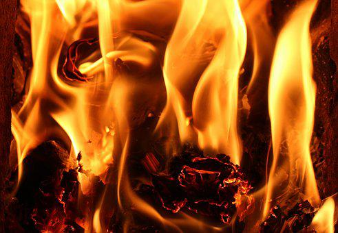 Fire, Flames, Hot, Heat, Fireplace, Energy, Light, Burn