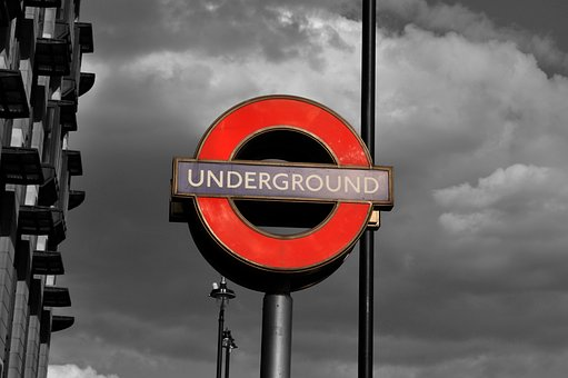Pile, Shield, Travel, Road, City, London, Underground