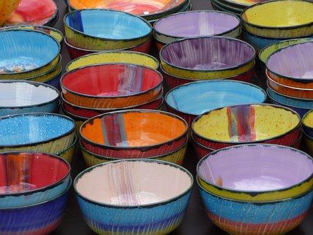 Container, Handmade, Pottery, Ceramic, Bowls