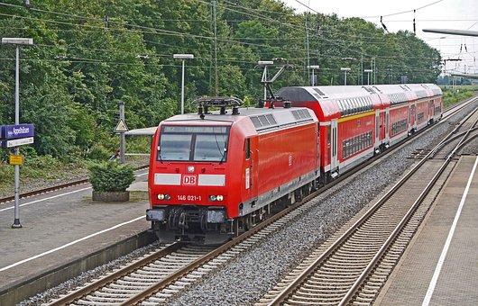 Regional-express, Double Decker, En-route Stop