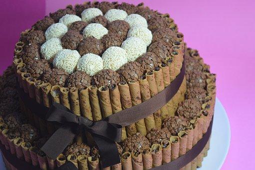 Cake, Dessert, Chocolate, Food, Pastry Shop