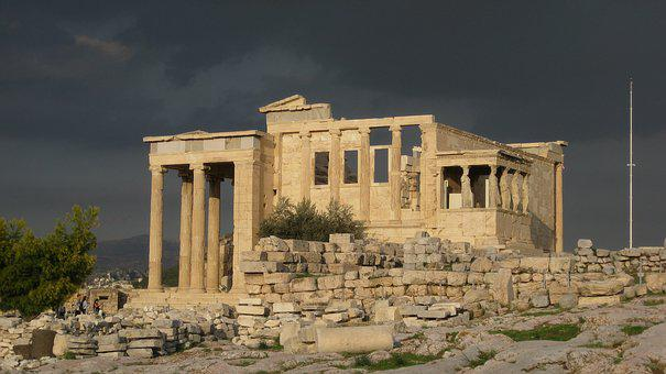 Architecture, Athens, Acropolis, Greece