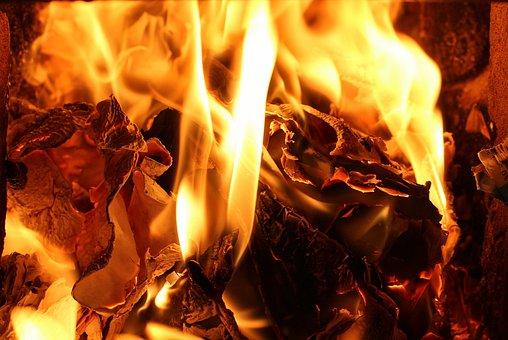 Fire, Flames, Heat, Fireplace, Hearth, Hot, Burn, Light