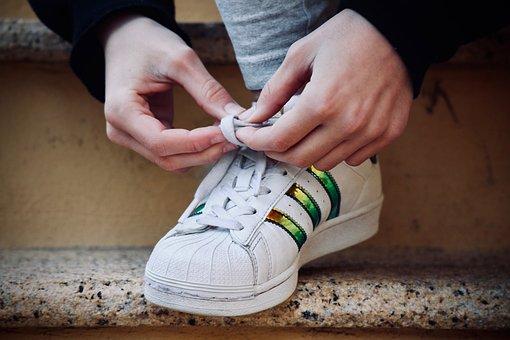 Foot, Shoe, Human, Hand, Fingers, Bonds, Freedom