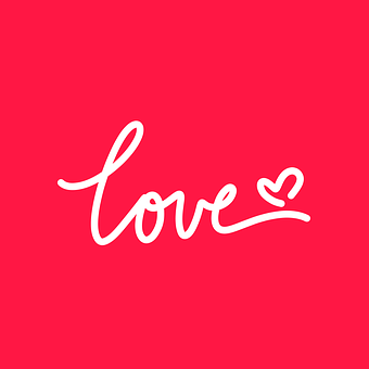Love, Typography, Heart, Lettering, Text, Invitation