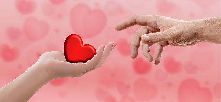 Heart, Valentine's Day, Hand, Love, Red, Romantic