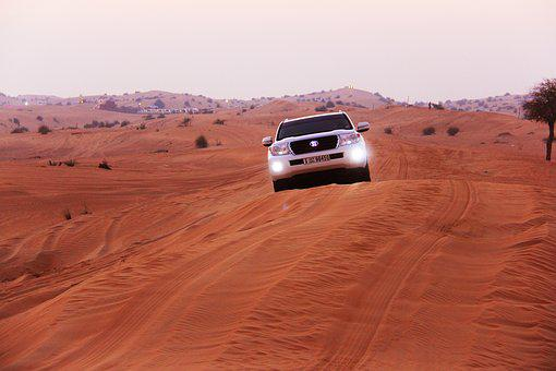Adventure, Sand, Safaris, Desert, Car, Dry, Outdoors