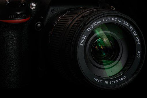 Lens, Zoom, Local, Camera, Dslr, Black, Photo, Digital