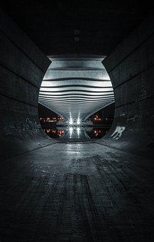 Bridge, Lights, Czech Republic, Night, Prague, City