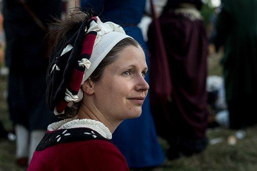 Kampfrau, Landsknecht, Medieval, Larp, Reenactment