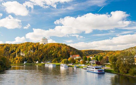 Nature, Water, Lake, Panoramic, Sky, River, Landscape