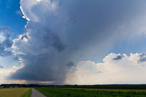 Thunderstorm, Storm, Super Cell, Nature, Sky, Austria