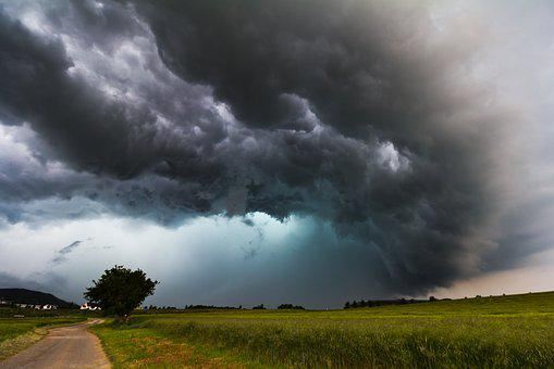 Thunderstorm, Storm, Nature, Forward, Sky, Landscape