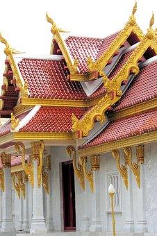 Temple, Travel, Architecture, Buddha, Golden, Thailand