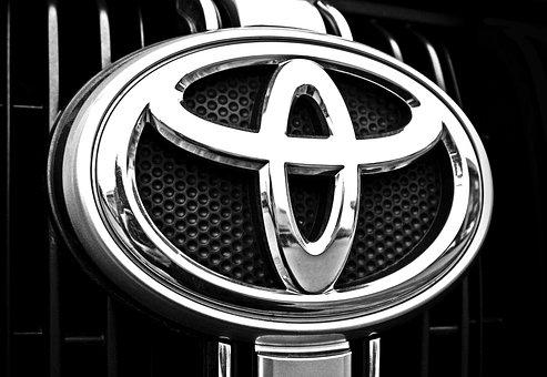 Toyota, Auto, Car, Grill, Metal, Radiator, Chrome
