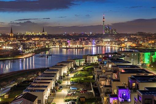 City, Urban Landscape, Travel, Waters, Architecture