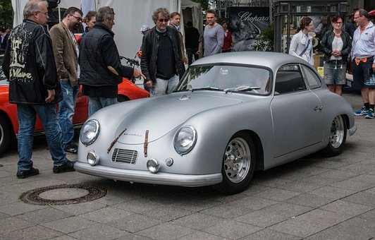 Auto, Porsche, Oldtimer, Classic, Automotive, Vehicle