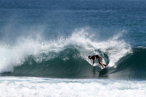 Surf, Wave, Spray, Surfboarding, Water