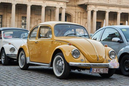 Car, Vehicle, Transport, Classic, Volkswagen, Beetle