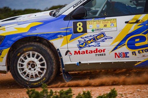 Wheel, Car, Hurry, Vehicle, Fast, Race, Rally, Sport