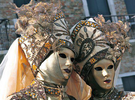 Costume, Mystery, Masked Ball, Hide, Traditional