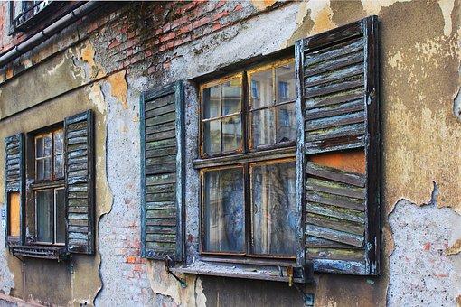 Devastation, Shutter, Window, The Beauty Of Old Age