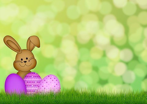 Easter, Egg, Easter Bunny, Grass, Happy Easter
