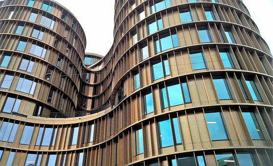 Architecture, Glass, Modern, Office, Façade, Profession