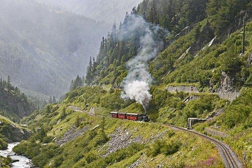 Switzerland, High Rhône Valley