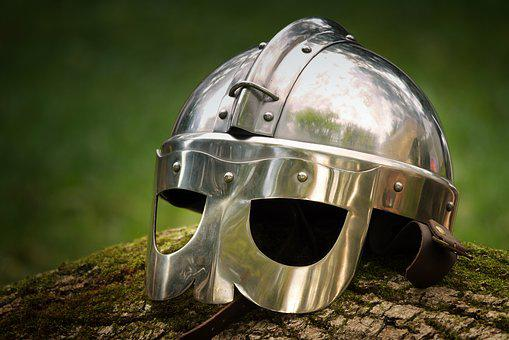 Protection, Helm, Armor, Historically, Ritterruestung