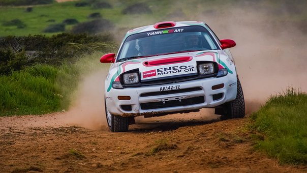 Race, Car, Rally, Track, Hurry, Competition, Action