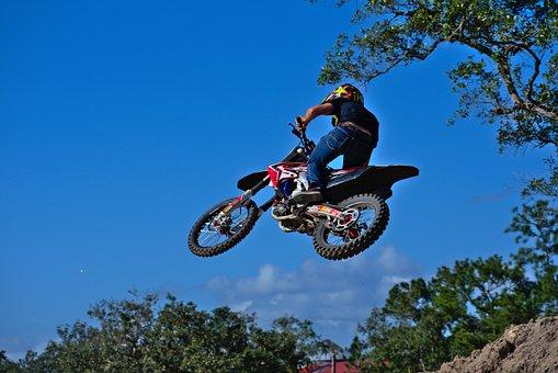 Sport, Hurry, Jump, Fun, Bike, Honda, Whip, Ramp