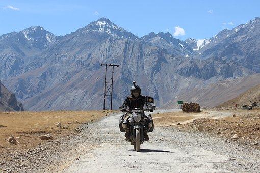 Mountain, Adventure, Travel, Snow, Landscape, Road