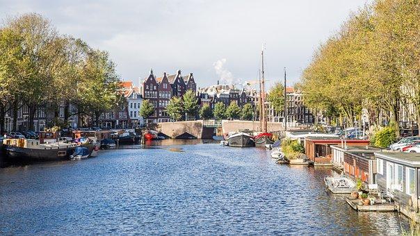 Water, River, Megalopolis, City, Tourism, Channel