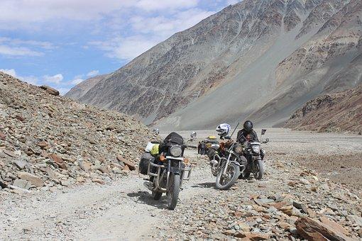 Mountain, Adventure, Nature, Road, Soil, Travel, Riders