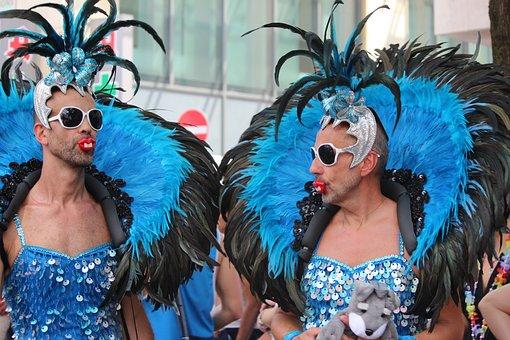 Festival, Costume, Parade, Pleasure, Mask, Csd, Cologne