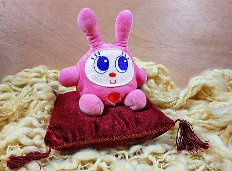 Bunny, Rabbit, Stuffed, Stuffed Animal, Cuddly Toy, Toy
