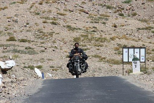 Road, Soil, Travel, Riders, Land, Bike, Himachal, Spiti