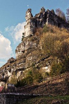 Rock, Rock Wall, Steep, Pottenstein