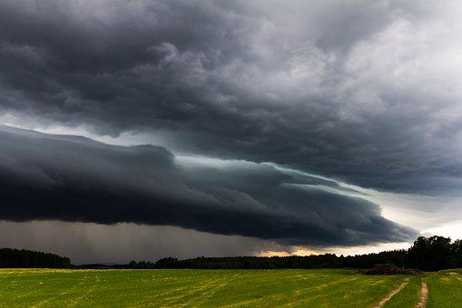 Shelf Cloud, Weather, Thunderstorm, Agriculture